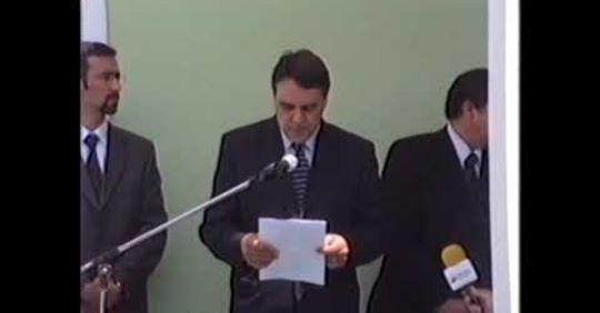 Inauguração da Junta de freguesia do Raminho Ano 2001