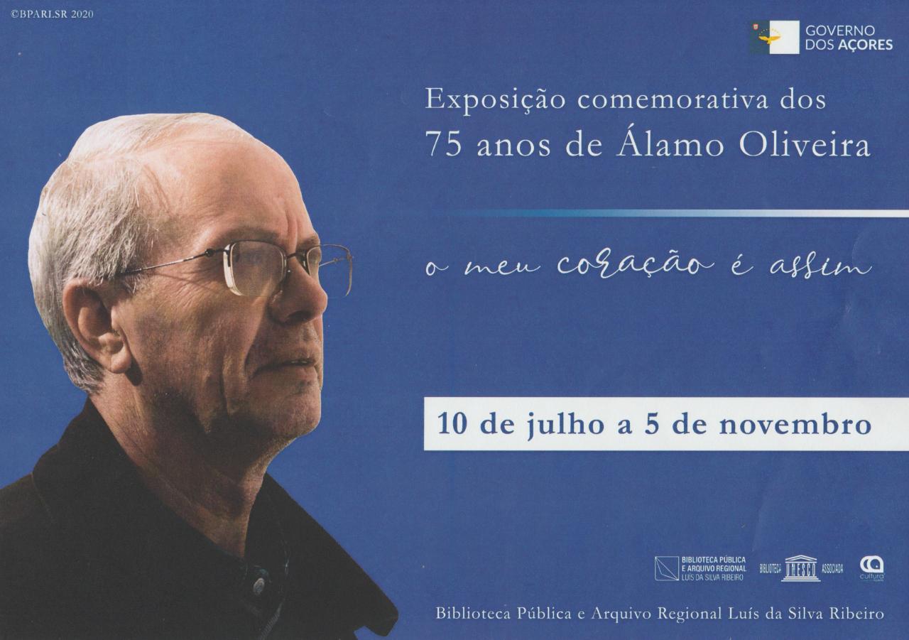 Exposição comemorativa dos 75 anos de Álamo de Oliveira