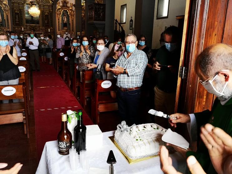 O que Hermínio celebrou hoje 25 anos de sacerdócio